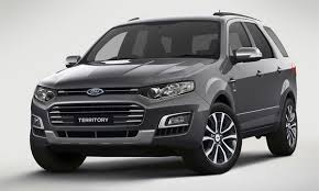 Ford представил последнюю версию внедорожника Territory ...