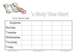 No More Nagging Chart Homework Chart And Other Tools To Get Homework Done