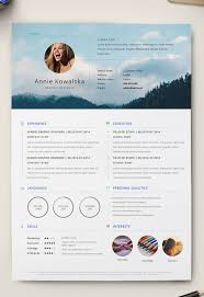 Illustrator Resume Templates Interesting 28 Free Editable Minimalist Resume CV In Adobe Illustrator And