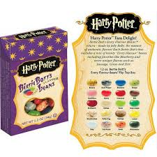 Harry Potter Jelly Bean Flavors Chart 2016 Real Sale Popin Cookin Harry Potter Box Bean Boozled