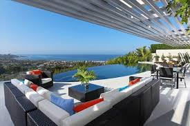 Apartments North County San Diego. The Modern Ocean View La Jolla  Mansion(just outside North County) is seated at