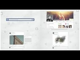 my timeline after effects template facebook cover template
