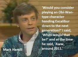 Luke Skywalker Quotes Interesting Mark Hamill Talks Star Wars Luke Skywalker Sequel Trilogy LYBIO