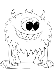 Monster Coloring Pages Tubidportalcom