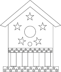Small Picture Birdhouse Coloring Page Color Book