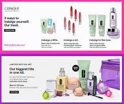 receive a free 4 pc gift with 40 clinique purchase clinique