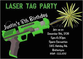 Free Laser Tag Invitation Template Laser Tag Birthday Invitation Templates Free Birthdaybuzz