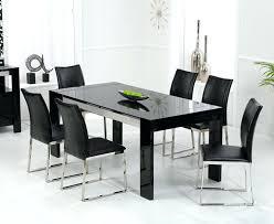 black high gloss dining table enchanting black high gloss dining table and chairs oslo black high