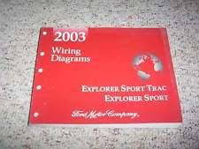 2003 ford explorer sport trac wiring diagrams manual 2003 ford explorer sport trac electrical wiring diagram manual xls xlt 4 0l v6