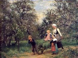 """Résultat de recherche d'images pour """"fleurs de pommiers peinture"""""""
