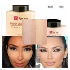 ben nye banana powder 1 5 oz bottle luxury face makeup kim