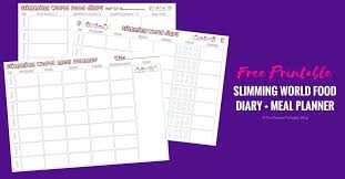 Printable Food Diary Template Free Tracker Templates Page 4 5 Daily