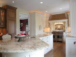 cherry cabinets white granite countertops pros and cons