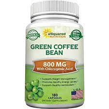 Green coffee cleanse is packed with so healthy compounds that are tough against fat and toxic waste you are carrying. Amazon Com Natural Green Coffee Bean Formula 180 Capsules Max Strength Gca Antioxidant Cleanse For Pure Weight Loss 800mg Per Pill With Chlorogenic Acid 1600mg Daily Supplement Healthy Fat