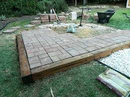 do it yourself patio pavers small patio ideas with 16x16 patio pavers