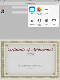 Certificate Maker App Create And Design Your Own Certificate