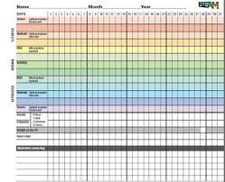Daily Mood Chart For Bipolar Disorder Bipolar Disorder Mood Charts And You Free Mood Chart