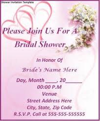 Bridal Shower Invitations Templates Microsoft Word Free Bridal Shower Invitation Templates Create Your Surprising