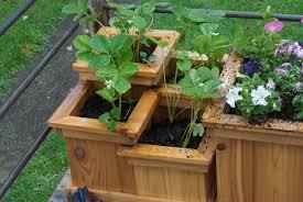 Clever Decks Manhattan Roof Garden Terrace Deck Wood Planter Boxes Fence As  Wells As Ways To