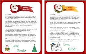20 Beautiful Santa Letter Template Word Doc Images Complete