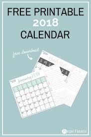 blank 2018 calendar free blank 2018 calendars frugal fanatic