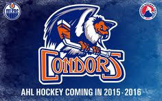 the bakersfield condors unveiled their new blue orange logo today which they ll