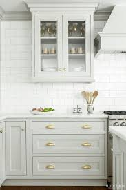 gold cabinet pulls kitchen. kitchen trend: gray cabinets with brass hardware \u2014 the kitchn (apartment therapy main) gold cabinet pulls s