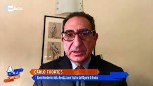 Rai Italia - Carlo Fuortes a L'Italia con Voi