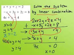 how to solve the system of linear equations math most viewed thumbnail system of equations solve system of linear equations mathematica