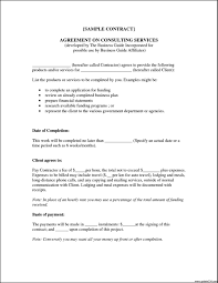 Consultant Contract Template One Page Consulting Agreement Download Free PowerPoint Themes Tag 12