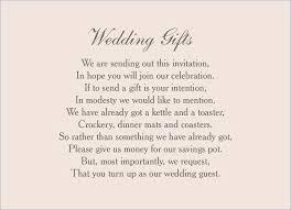 wedding invitation wording money instead of gifts wedding invitation wording for cash gifts