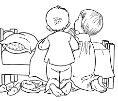 Small Picture coloring page children praying Google Search cc Pinterest