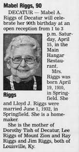 Obituary for Riggs Mabel Riggs (Aged 90) - Newspapers.com