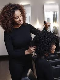 hair salon experience with a ouidad curly hair salon specialist