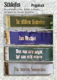 Trauerschleifen Blumen Kaltenbeck