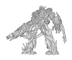 Transformers Coloring Pages For Kids Transformers Coloring Pages