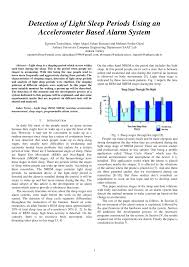 Detection Of Light Pdf Detection Of Light Sleep Periods Using An Accelerometer