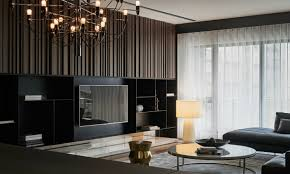 Images interior design tv Lcd Interesting Tv Wall By One Work Design Tierra Este Elegant Contemporary And Creative Tv Wall Design Ideas