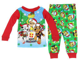 Amazon.com: Paw Patrol Christmas Holiday Toddler Pajamas: Clothing