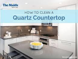 how to clean quartz countertop on granite countertops colors