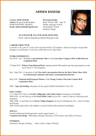 Example Of Resume In English Cv Example In English For Job Perfect Resume Format 10