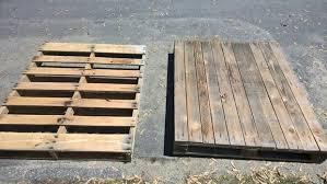 pallet storage bench. step 1: choosing your pallets pallet storage bench