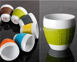 office cups. Online Shop 250ML Bodum Fine Porcelain SILICONE Tea Cups Mugs Office Cup Bone China Creative Tableware Aliexpress Mobile N