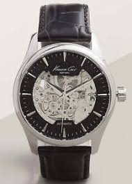 men 039 s kenneth cole automatic skeleton watch 10027199 image is loading men 039 s kenneth cole automatic skeleton watch