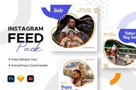 Copy and paste fancy instagram fonts for you bio. Instagram Post Father S Day Template Graphic By Mahative Creative Fabrica