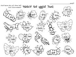 special insect coloring pages preschool free of cricket in inside