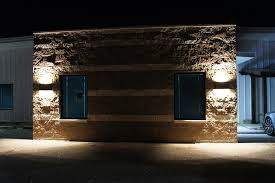 incredible outdoor wall sconce up down lighting commercial outdoor lighting the art gallery commercial exterior