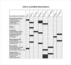Sample Maintenance Log Template 9 Free Documents In Pdf