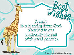 Christian Message For Baby Shower