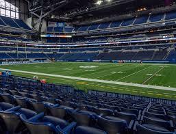 Lucas Oil Stadium Section 110 Seat Views Seatgeek